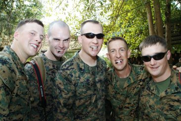 eating-crickets-with-marines