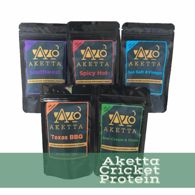 Protein For A Better World: Aketta Crickets